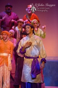 Senhica Klee as Caliph. Photo credit Darlene St. John Photography