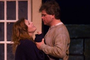Jessica Emerling Crow as Rosemary Muldoon and Todd Hoven as Anthony. Photo by Steve Finnestead Photography